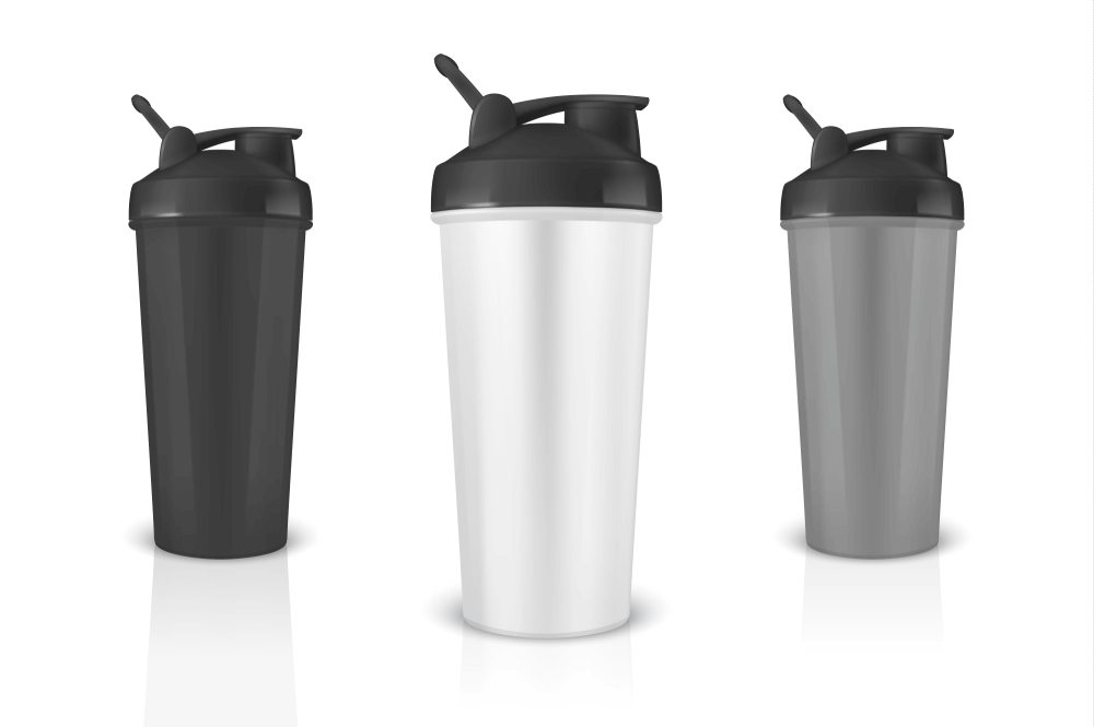 Best Protein Blender Bottle & Cup Shaker With Enough Storage