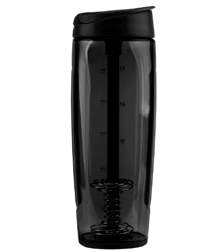 Trimr duo square water shaker bottle