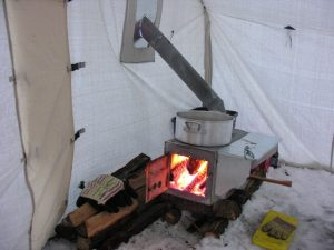 How-to-heat-a-tent-without-electricity