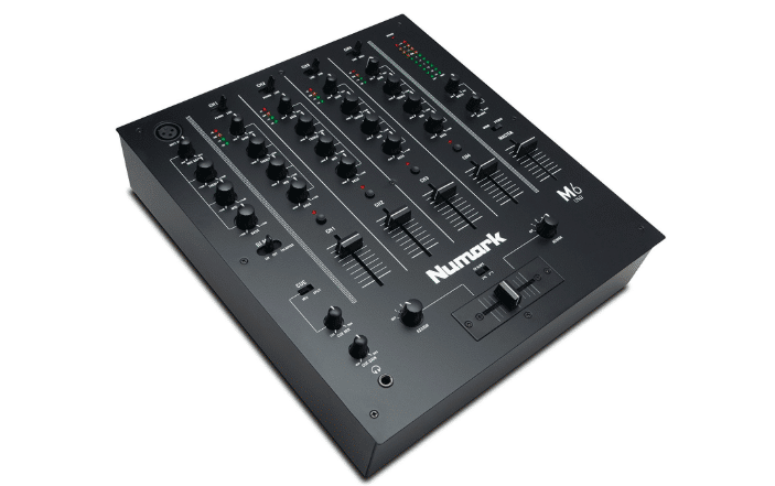 Numark M6 USB Professional Four-Channel USB DJ Mixer