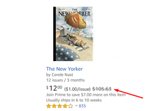 the new yorker book discount